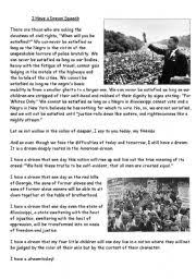 martin luther king worksheets for kids worksheets with songs
