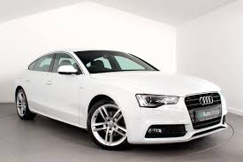 used audi a5 s line for sale used audi a5 sportback 2 0 tdi s line s s auto white 2 0