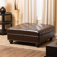 Table Ottoman Best 25 Leather Ottoman Coffee Table Ideas On Pinterest Large