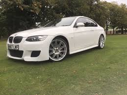 modified bmw 3 series 2007 bmw 3 series 325i e92 m3 white autovogue replica modified one