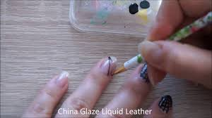simple halloween nail art idea spider web nail art youtube