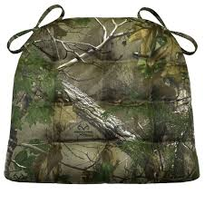 realtree xtra green r camo chair pad latex foam fill