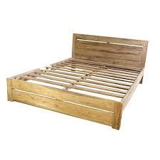 Solid Bed Frame King Wood King Bed Frame Elkar Club