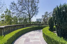 an architectural view of the greystone mansion and park deasy penner