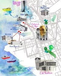 marseilles map marseille tourist map marseille mappery