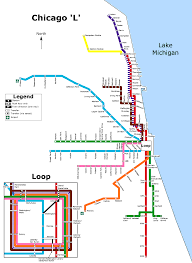 Areas Of Chicago To Avoid Map by Chicago L Map Png