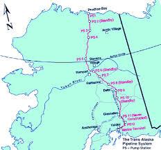 Tanana Alaska Map by Alaska Pipeline Cuts Through Last Frontier Story Id 7409