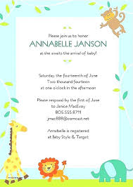 invitation templates for baby showers free baby shower invitations templates editable karabas me