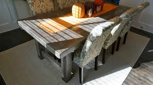 dining tables distressed dining table rustic grey wood furniture
