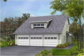 Residential Garage Plans Contemporary 3 Car Garage Plans With Attic For Decor