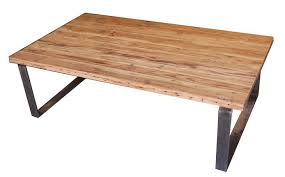 minimalist design of the iron and wood coffe table that seems so