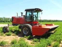 2015 massey ferguson wr9870 self propelled windrower item