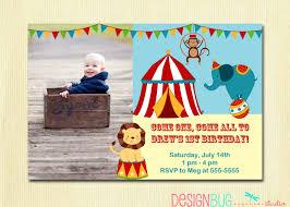 custom circus invitations circus 1st birthday invitation fisher price circus birthday 1st