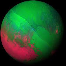 pluto dazzles in false color nasa