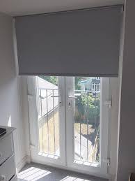 Roman Shade For French Door - roman blinds for patio doors 9804