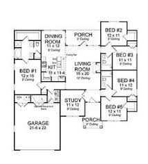 5 bedroom 1 house plans craftsman house plan 61421 total living area 2317 sq ft 5