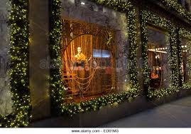 Christmas Window Decorations New York by Nyc Christmas Window Lord And Taylor Stock Photos U0026 Nyc Christmas