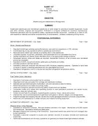 warehouse worker resume objective examples template design job
