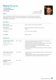 Best Resume Format For B Tech Freshers by Lofty Design Format Of Resume 14 Format For Resume Freshers Latest