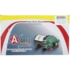 travel trailer water pump power drive 45 psi water pump arterra pds1 130 1240e fresh