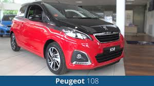 peugeot 108 2016 review youtube