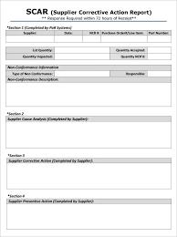 non conformance report form template 47 corrective report template principal foundinmi
