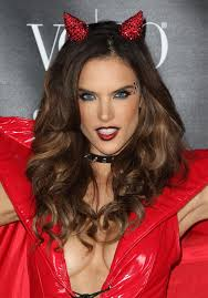 alessandra ambrosio at heaven and hell halloween party in los