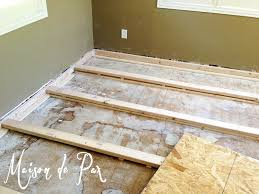 level floor astonishing how to level a subfloor my brilliant husband and our