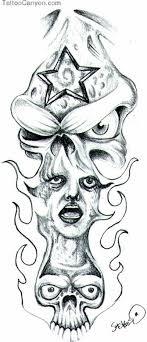 free skull joker design tattoos book