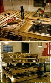 Rustic Kitchen Furniture 10 Brilliantly Rustic Diy Pallet Kitchen Furniture Ideas Page 3 Of 5