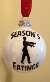 the walking dead ornaments we d kill to on our tree the