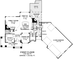 craftsman style house plan 4 beds 3 50 baths 3524 sq ft plan 51 464