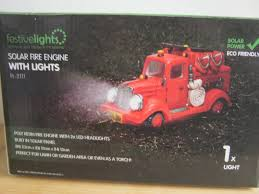 festive lights solar powered light engine garden ornament