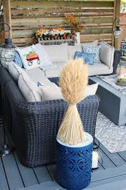 Patio Decor Fall Patio Decorations Clean And Scentsible