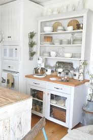 Rustic Farmhouse Kitchen Ideas Best 20 Rustic White Kitchens Ideas On Pinterest Rustic Chic