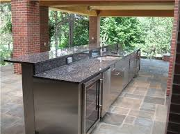 outdoor kitchen cabinets the allure of outdoor kitchen cabinets and advices you should know
