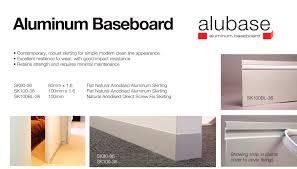 flush baseboard aluminum baseboard ezyjamb pdf catalogues documentation
