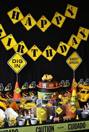 construction party ideas 45 construction birthday party ideas spaceships and laser beams