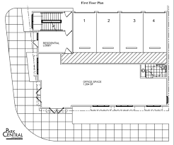 mixed use infill proposed for prominent vacant lot in the grove