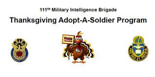 adopt a soldier program 111th intelligence brigade