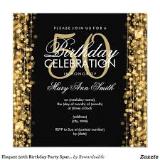 birthday invites stylish 50th birthday party invitations designs