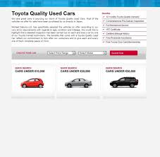 toyota corporate portfolio corporate toyota used cars application abakus