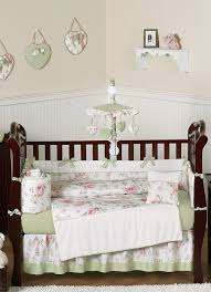 rileys roses shabby chic baby bedding 9 piece crib set by sweet
