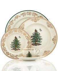 spode tree gold collection china macy s