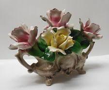 Capodimonte Vases Antique Capodimonte Vase Ebay