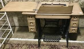 Singer Sewing Machine Desk Singer Sewing Machine Cabinet Table For Sale At The Habitat For
