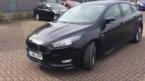 used ford focus tdci used ford focus 1 5 tdci 120 st line 5dr shadow black 2016