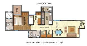 2bhk House Plans Lodha Palava City Lakeshore Greens 1 2 And 3 Bhk Flats In