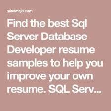 Sql Server Developer Resume Sample by Tim Ford U0027s Periodic Table Of Dmvs In Sql Server Sql Server