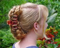 hair style wirh banana clip braids hairstyles for super long hair banana clip style braids